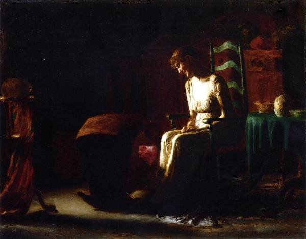 Woman in a Rocking Chair